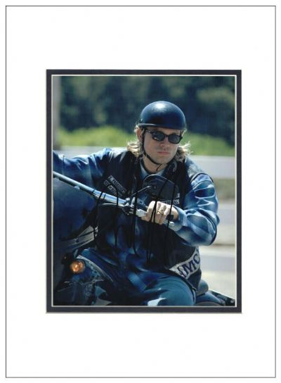 Charlie Hunnam Autograph Photo Signed Photo - Sons of Anarchy